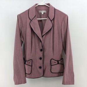 Dress Barn Womens 4 Button Blazer Jacket Size 10 P